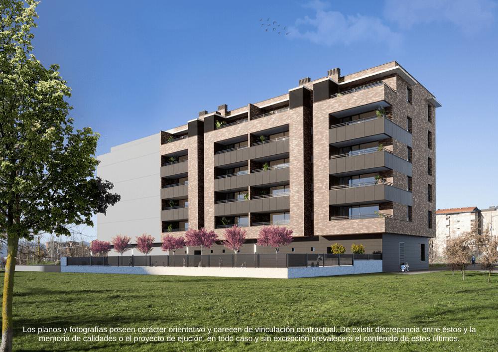 Edificio Lasai Zabalgana Vitoria-Gasteiz Piso nuevo