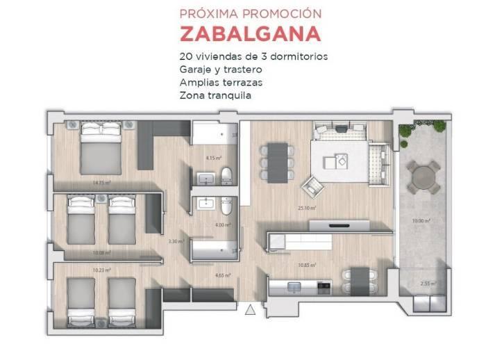 Próxima Promoción de viviendas en Vitoria-Gasteiz. Pisos.